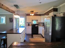 raised ranch kitchen ideas house on the hill before afters rustic refined repete ranch