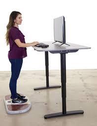 elevate standing desk kickstarter decorative desk decoration