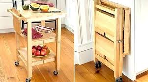 folding kitchen island cart origami folding kitchen island cart medium size of carts on wheels
