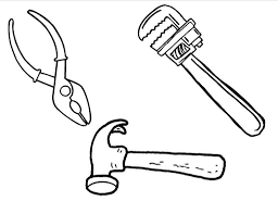 construction tools coloring pages getcoloringpages com
