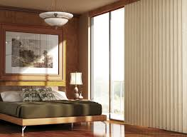 Curtains For Vertical Blind Track Vertical Blinds With Curtains Attached That Can Hang In Front Of