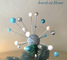 Ornament Chandelier Diy by Mid Century Atomic Christmas Tree Topper Jewels At Home