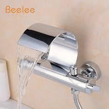 montaggio vasca da bagno beelee q3025w montaggio a parete vasca da bagno rubinetto due