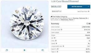 price for a average price of 1 carat ring 1 carat f dollars