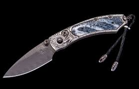 william henry kitchen knives william henry kestrel silver lair compact folder 2 125 black