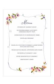 menu design for dinner party party menu templates gidiye redformapolitica co