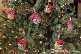 beer label christmas ornaments spot of tea designs