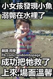 Meme In Chinese - chinese meme a girl saves a fish from drowning funny pinterest