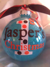 First Christmas Personalized Ornaments - 110 best silhouette christmas images on pinterest cricut vinyl