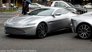 aston martin vintage james bond aston martin db10 filming james bond 007 spectre movie youtube