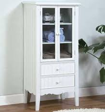 Small White Storage Cabinet by Rose White Small Bathroom Cabinet Freestanding Storage 74 Best