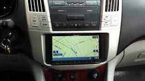 lexus rx330 best year pioneer avic z120bt lexus rx330 navigation bluetooth ipod youtube
