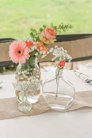 Wedding Reception Vases Pastel Wedding Reception Decor Wedding Reception Photos By
