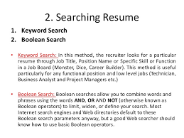 Dice Resume Search Recruiters Training Guide 1