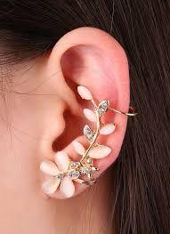 one ear earring 6 fashion various styles one ear hawk swing sector starfish petal