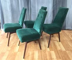 set of six adrian pearsall dining chairs for craft associates