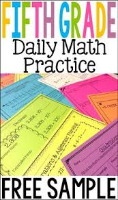 free two weeks of daily math review for fifth grade preview and