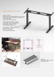 Reception Desk Height by Electric Height Adjustable Standing Reception Desk Half Round