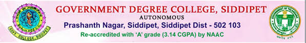 vision mission government degree college siddipet a
