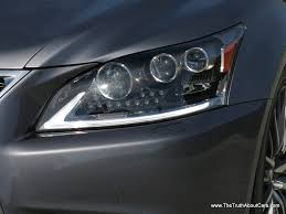 lexus ls 460 review 2007 2013 lexus ls 460 f sport exterior headlamps picture courtesy