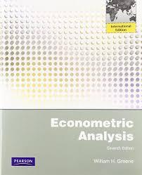 econometric analysis international edition amazon co uk william