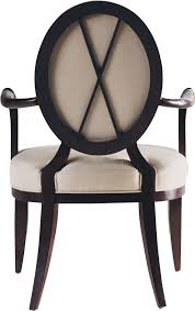 dining arm chairs upholstered shop for baker oval x back dining arm chair 3441 and other
