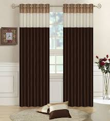 Brown Gold Curtains Exclusive And Gold Curtains Faux Silk Lined Curtains Three