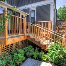 Deck Landscaping Ideas Houzz Landscaping Landscaping Around A Deck Design Pictures
