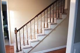 Install Banister How To Paint Stairway Railings Bower Power