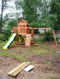 Backyard Discovery Monticello Backyard Discovery Cedar View Playset Installed In Cherry Hill Nj