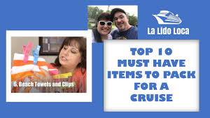 Top 10 Must Pack Cruise by What To Pack For A Cruise Must Items Cruise Tips Cruise