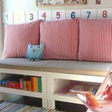window seat ikea hack diy ikea hack expedit benches and toy storage diy pinterest