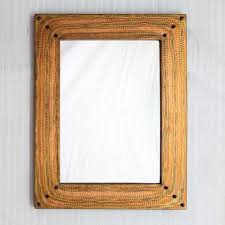 copper bathroom mirrors copper framed mirror hammered texture hand crafted vanity size
