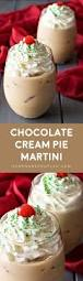 martini chocolate chocolate cream pie martini homemade hooplah