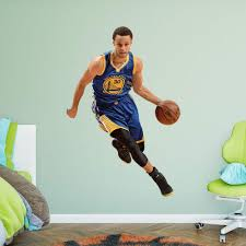 fathead 75 in h x 51 in w stephen curry drive wall mural 22