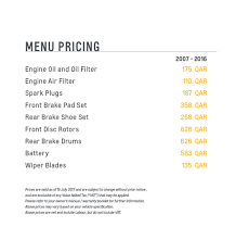 2018 chevrolet aveo menu pricing qatar