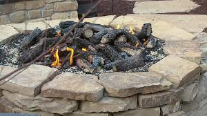How To Build A Stone by How To Build A Stone Fire Pit Video Diy