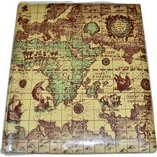 Old World Map Old World Map W Loch Ness Monster Large Photo Album W Bonus 3