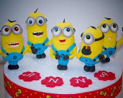 minions cake toppers minion cake topper etsy studio