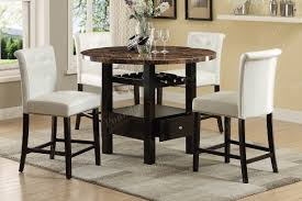 black dining room sets high top kitchen tables modern glass dining