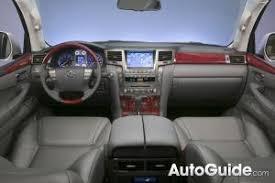 Lexus Lx Interior Pictures 2009 Lexus Lx 570 Review Car Reviews