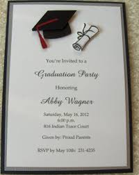 college graduation invitation templates sle invitation wording for graduation party best of