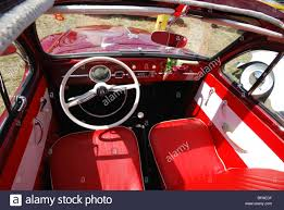 beetle volkswagen interior classic vw beetle interior at club event budel netherlands summer