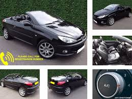 used peugeot 206 1 6 for sale motors co uk