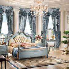 Antique Bedroom Furniture Most Popular Antique Luxury King Size Wood Bedroom Furniture Set