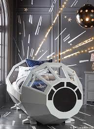 Star Wars Kids Room Decor by The Millennium Falcon Star Wars Bed Mylittlejedi Star Wars