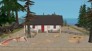 mod the sims abandoned new zealand baches beach lot