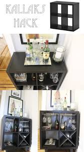 Ikea Bathroom Hacks Diy Home Improvement Projects For by Ikea Kallax Hack To A Bar Made By Keeparker Daily Bee