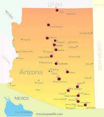 Flagstaff Arizona Map by Arizona Road Trip The Places You Must See In Az