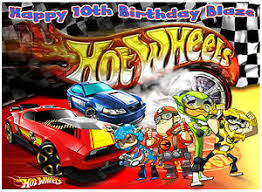 hot wheels cake toppers a4 team hot wheels sports racing cars edible icing birthday party